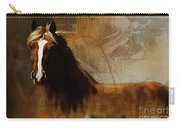 Brown Horse Pose Carry-all Pouch