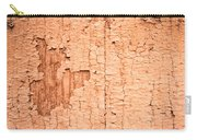 Brown Paint Texture Carry-all Pouch