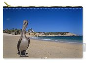 Brown Pelican At The Baja Carry-all Pouch