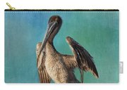 Brown Pelican - Fort Myers Beach Carry-all Pouch