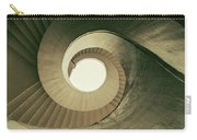 Brown Spiral Stairs Carry-all Pouch