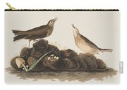 Brown Titlark Carry-all Pouch