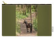 Brown Wild Horse Carry-all Pouch