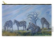 Browsing Zebras Carry-all Pouch