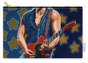 Bruce Springsteen The Boss Painting Carry-all Pouch