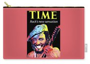 Bruce Springsteen Time Magazine Cover 1980s Carry-all Pouch