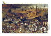 Bruegel: Triumph Of Death Carry-all Pouch