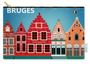 Bruges Belgium Horizontal Scene Carry-all Pouch