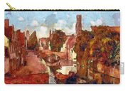 Bruges Canal View Carry-all Pouch
