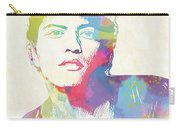Bruno Mars Watercolor Carry-all Pouch