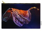 Brused Hibiscus Carry-all Pouch