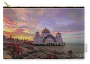 Brush Stroke Cloud Over Selat Mosque Carry-all Pouch