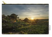 Brushy Peak Sunset Carry-all Pouch