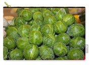 Brussel Sprouts Carry-all Pouch