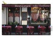 Brussels - Restaurant La Villette Carry-all Pouch by Carol Groenen