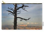 Bryce Canyon Dead Tree Sunset 3 Carry-all Pouch