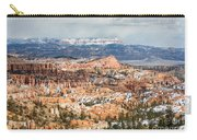 Bryce Canyon Looking Towards Aquarius Plateau   Carry-all Pouch