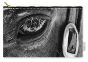 Bryce Canyon National Park Horse Bw Carry-all Pouch