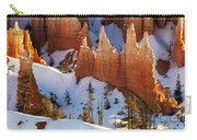 Bryce Canyon Winter 3 Carry-all Pouch