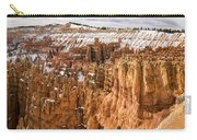 Bryce Canyon Winter Panorama - Bryce Canyon National Park - Utah Carry-all Pouch