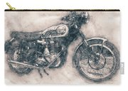 Bsa Gold Star - 1938 - Motorcycle Poster - Automotive Art Carry-all Pouch