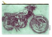 Bsa Gold Star 3 - 1938 - Motorcycle Poster - Automotive Art Carry-all Pouch