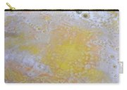 3. Bubble Yellow And White Glaze Painting Carry-all Pouch