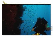 Bubbles And Butterfly Fish Carry-all Pouch