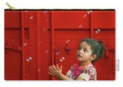 Bubbling Girl Carry-all Pouch by Aimelle
