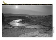 Bubbling Hot Spring In Yellowstone National Park Bw Carry-all Pouch