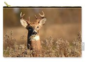Buck In The Weeds Carry-all Pouch
