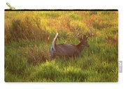 Buck On The Run  Carry-all Pouch