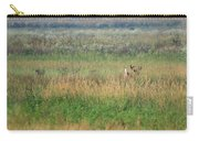 Buck Running In Field Carry-all Pouch