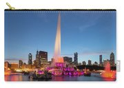 Buckingham Fountain At Dusk II Carry-all Pouch