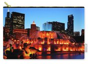 Buckingham Fountain Carry-all Pouch