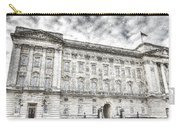 Buckingham Palace London Snow Carry-all Pouch