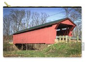 Buckskin Covered Bridge Carry-all Pouch