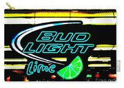 Bud Light Lime Tweeked Carry-all Pouch