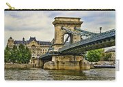 Budapest - Chain Bridge Carry-all Pouch