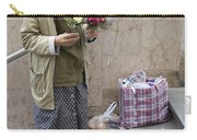 Budapest Flower Woman Carry-all Pouch