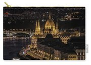Budapest View At Night Carry-all Pouch