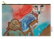 Buddha And The Divine Kit Fox No. 1373 Carry-all Pouch