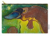 Buddha And The Divine Platypus No. 1375 Carry-all Pouch