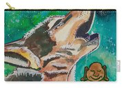 Buddha And The Divine Wolf No. 1370 Carry-all Pouch