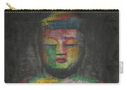 Buddha Encaustic Painting Carry-all Pouch