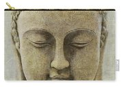 Buddha Head Carry-all Pouch by M Montoya Alicea