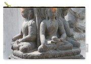 Buddha Statue At Temple - Swayambunat  Carry-all Pouch