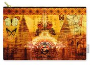 Buddha With Butterflies Carry-all Pouch