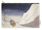 Buddhist Cleric Nichiren And Bleak Winter In Exile Carry-all Pouch