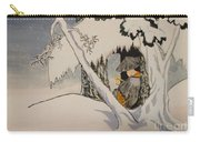 Buddhist Cleric Nichiren In Exile And Homage To Yoshitoshi Carry-all Pouch